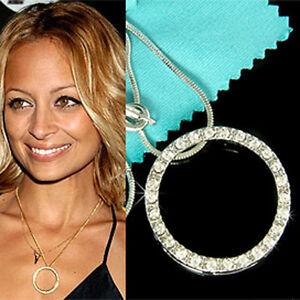 W swarovski crystal circle of love hollywood celebrity jewelry image is loading w swarovski crystal circle of love hollywood celebrity aloadofball Choice Image