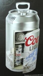 Coors light mini can fridge refrigerator thermoelectric cooler 12vdc image is loading coors light mini can fridge refrigerator thermoelectric cooler aloadofball Gallery
