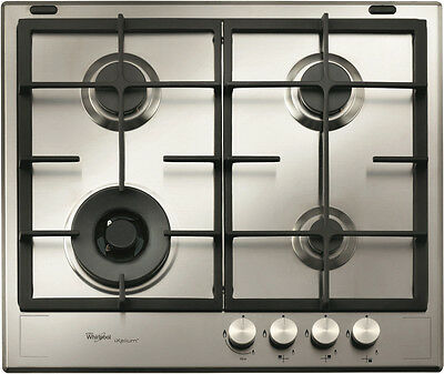 NEW Whirlpool GMF6422IXL 60cm Gas Cooktop