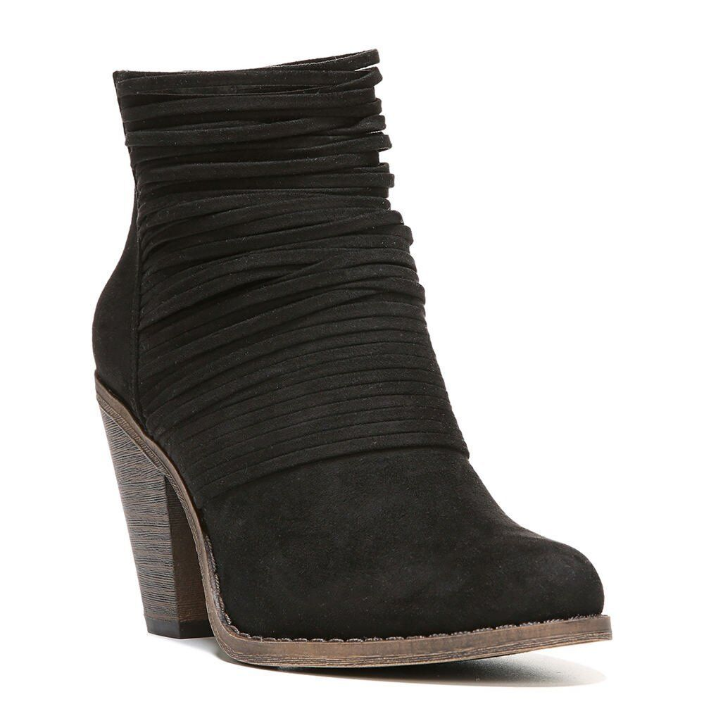 Fergalicious Women's Wicket Ankle Bootie Black 6.5 M US