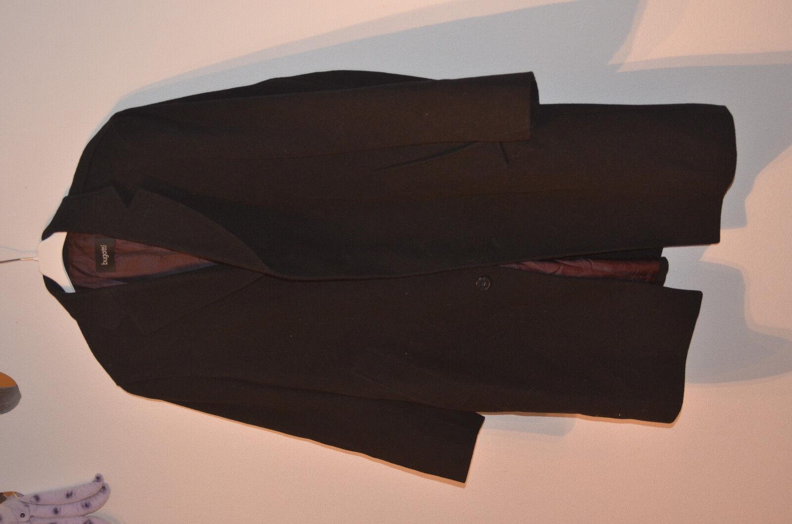 Bugatti Herren Mantel kurz, Größe 27, schwarz, sehr elegant, neuwertig, s. Fotos