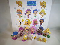 Bubble Guppies Set Of 10 Pcs Cake Toppers Playset With Detachable Bases. Nice