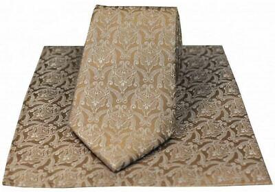 Navy//Red David Van Hagen Mens Spotted Thin Knitted Silk Tie and Ribbed Handkerchief Set