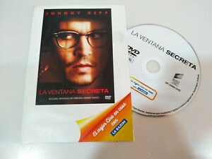 La-Ventana-Secreta-Johnny-Depp-DVD-Sobre-de-Carton-Espanol-Ingles-Region-2