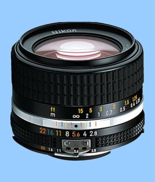 100% New Unused Nikon Ais Nikkor 28mm f/2.8 Wide Angle Manual Lens Ai S MF F2.8