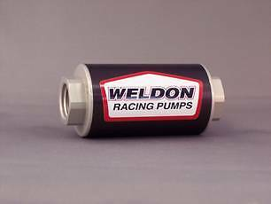 Weldon Billet Fuel Filter 40 Micron WEQ1240CLN