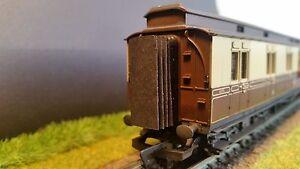 12x-00-Gauge-Hornby-Clerestory-Gangway-Corridor-Connectors-Bellows-4mm-BR-GWR