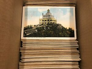 Large-Lot-of-500-Vintage-Early-and-Mid-1900s-Massachusetts-Postcards