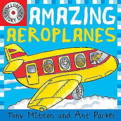 Amazing Machines: Amazing Aeroplanes, Mitton, Tony, Very Good Book