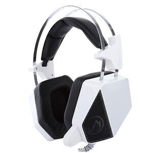 leuchtende stereo headset spiel kopfh rer mikrofon lautst rkeregelung f r tablet ebay. Black Bedroom Furniture Sets. Home Design Ideas