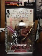 Star Wars 2008 Comic Packs #3 Episode III KASHYYYK TROOPER & WOOKIEE WARRIOR