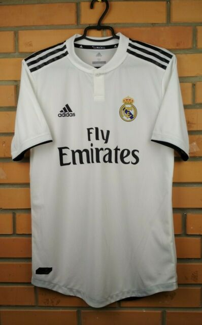 Real Madrid Player Issue Jersey 2018 2019 Home Shirt M Climachill CG0561 Adidas