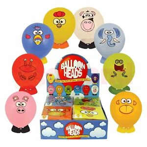 BALLOON-HEADS-ANIMAL-STICKER-BOY-GIRL-TOY-FAVOR-PRIZE-BIRTHDAY-PARTY-BAG-FILLERS
