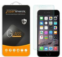 2x Supershieldz Tempered Glass Screen Protector Saver For Apple Iphone 7