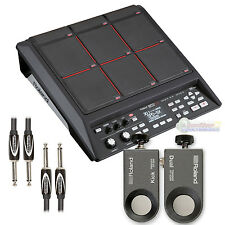 Roland SPD-SX Percussion Pad with RT-30K & RT-30HR Acoustic Drum Trigger, Cable