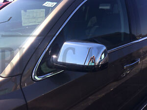 2015 2016 chevy tahoe chrome mirror door handle cover trim