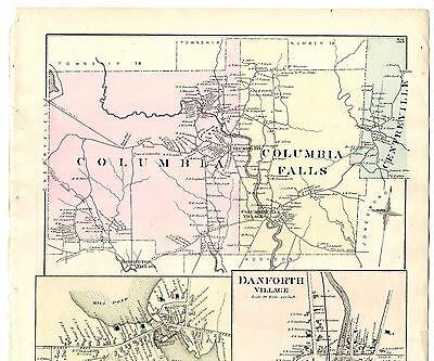 ATLAS MAP 1881 E ROBINSON SHORT HILLS MILLBURN TOWNSHIP ESSEX COUNTY NEW JERSEY
