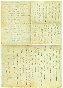 Rice Paper for Decoupage Decopatch Scrapbook Craft Sheet Vintage Love letters