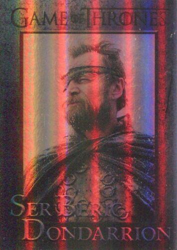 Game Of Thrones Season 7 Foil Parallel Base Card #49 Ser Beric Dondarrion