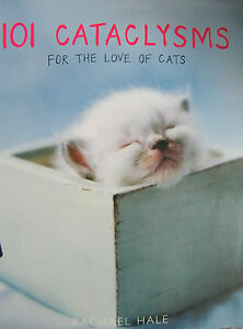 101-Cataclysms-For-The-Love-Of-Cats-Rachael-Hale-Hardcover
