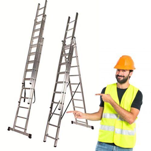 Escalera Triple de Tramo Extensible 3x10 3x7// 3x9 3x13