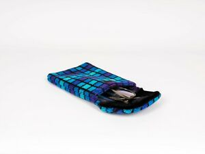"""iPad  Case made of British Rail """"provincial Blue""""  Moquette Fabric Tablet"""