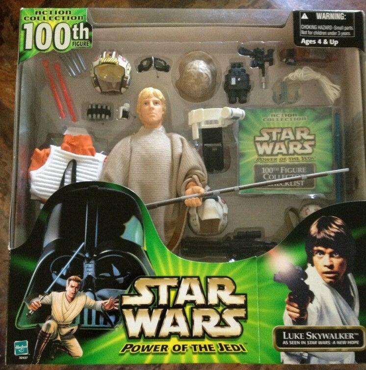 Star - wars - macht der jedi - ritter luke skywalker 100 12  sammler - wert