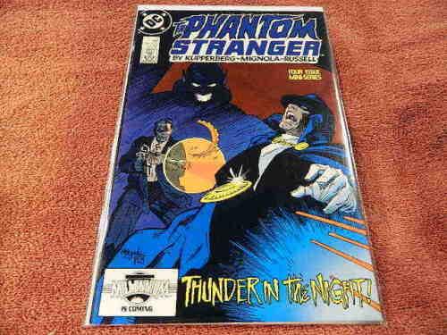 1987 DC Comics The PHANTOM STRANGER #1-4 Complete Limited Series //Classic Horror