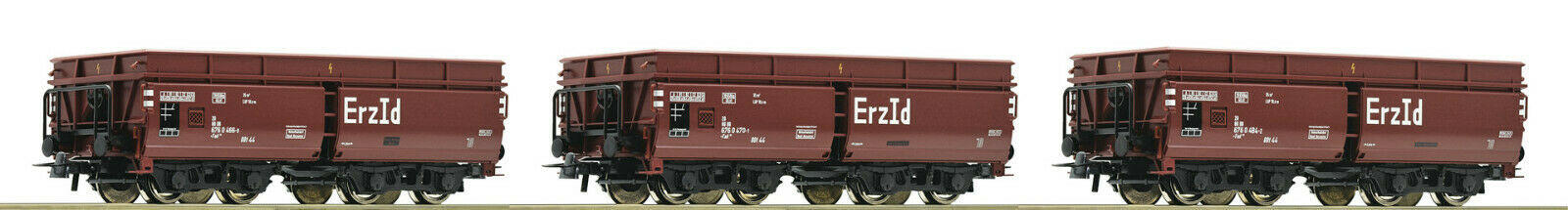 Roco 67148-set  3-piezas erzwagen, DB, época  IV, pista  h0, DC