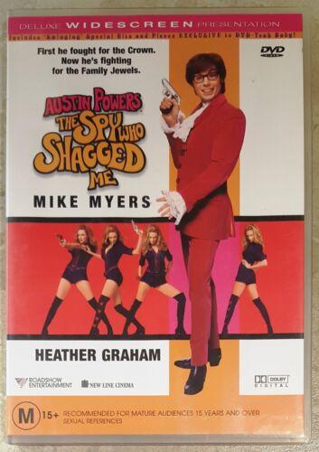 1 of 1 - Austin Powers - The Spy Who Shagged Me (Mike Myers) DVD LIKE NEW (Region 4)