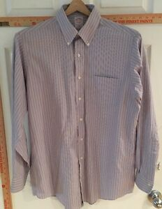 Brooks-Brothers-Men-039-s-15-1-2-34-Dress-Shirt