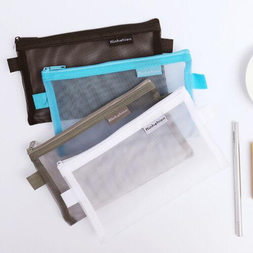 Transparent Pen Bags Pencil Case Federmäppchen Stationery Writing Case PAL