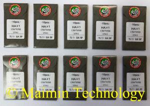 15X1 130//705H SIZE# 20 HOME SEWING MACHINE NEEDLES 100 EACH USA HAX1