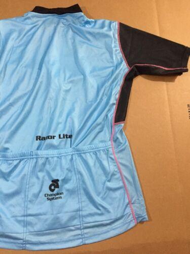 Champion System Women/'s Razor Lite Cycling Jersey Size Large L 4850-50