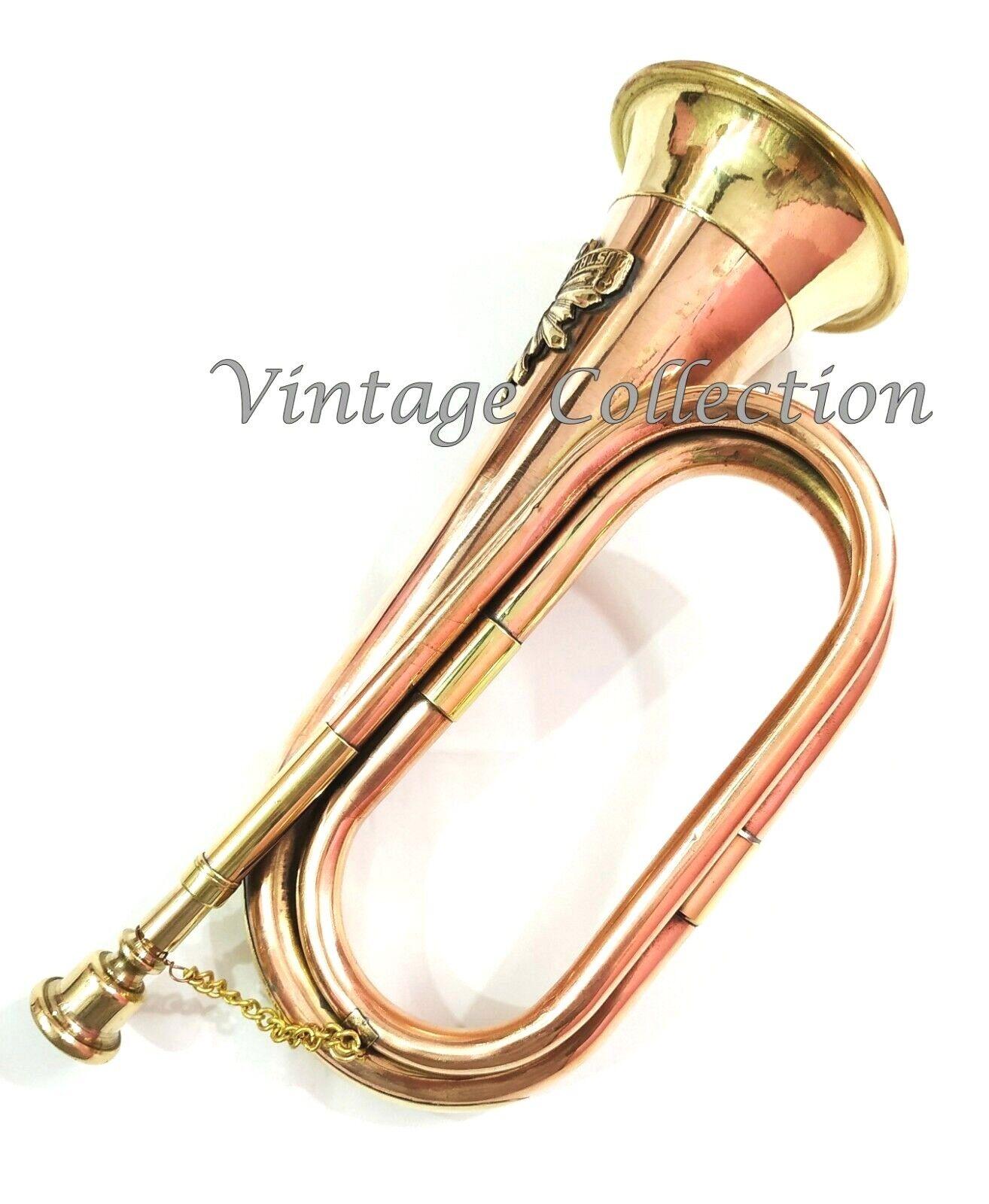 B-WARE Bb-Trompete Jazztrompete Messing 125mm Blasinstrument Koffer Mundstück