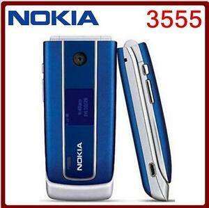 unlocked original nokia 3555 flip cell phone gsm mp3 bluetooth rh ebay com Nokia 3585 Nokia 2180