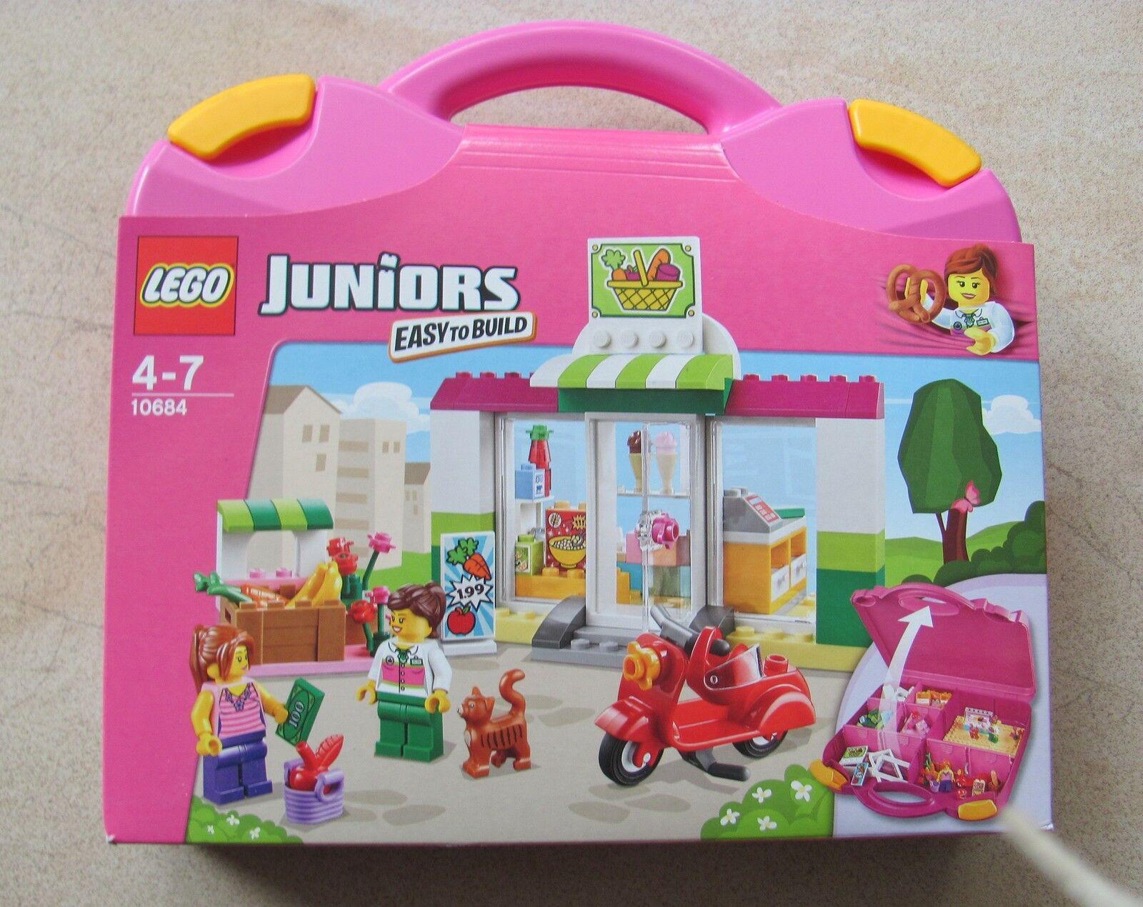 Lego juniors 10684 supermercado-maleta maleta maleta Bag nuevo con embalaje embalaje embalaje original  8ecb40