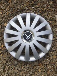 Citroen-etc-14-034-Chapeau-De-Moyeu-Enjoliveur-de-roue-x1-badgee