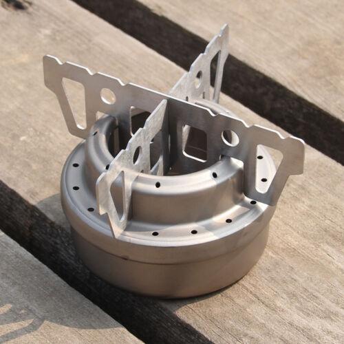 Cross Stand Titanium Outdoor Portable Stove Rack Pot Survival Notkocher Ofen