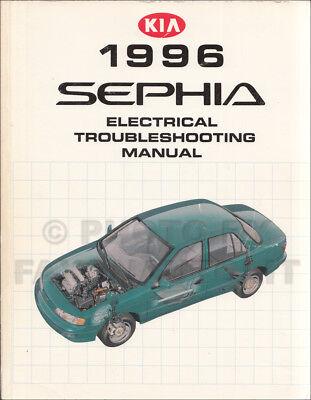 1996 kia sephia electrical troubleshooting manual wiring diagrams original  oem | ebay  ebay