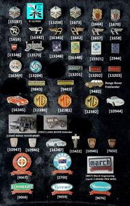 AUSTIN RANGE ROVER BRITISH LEYLAND MG UK Auto Abzeichen Pins AUSSUCHEN