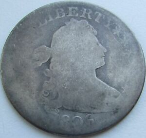 1806-Draped-Bust-Quarter-in-a-SAFLIP-1806-5-Variety