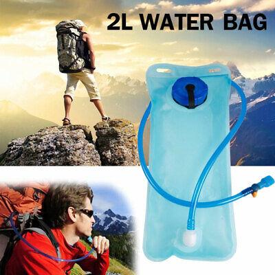 New Hiking Camping Hydration System 2L Water Bladder Bag Backpack Camel Pack UK