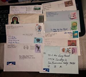 China Roc Taiwan Lot Of 10 Covers D Ebay