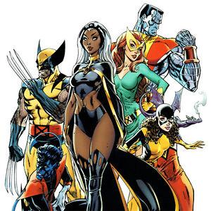 X-MEN-GOLD-1-Cover-ART-PRINT-Signed-J-SCOTT-CAMPBELL-Wolverine-SDCC-2017-Storm