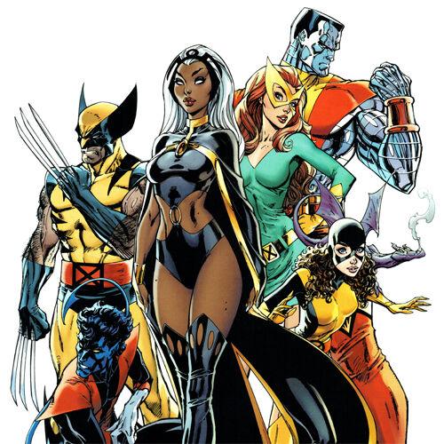X-MEN GOLD #1 Cover ART PRINT Signed J SCOTT CAMPBELL Wolverine SDCC 2017 Storm
