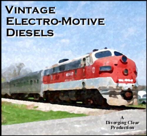 Train Sound CD Vintage Electro-Motive Diesels