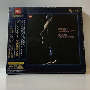 Esoteric-SACD-Bruckner-Symphony-No-7-Karajan-Japan-Super-Audio-CD-SEALED