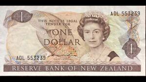 Bank-Of-New-Zealand-One-Dollar-P169b-VF-ADL553239