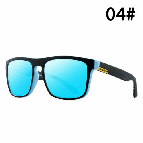 HD Polarized Driving Sunglasses Durable Square Frame Men Outdoor Goggles Glasses